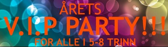 Bilder fra VIP party 24.04