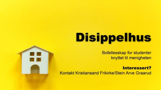 Disippelhus for studenter